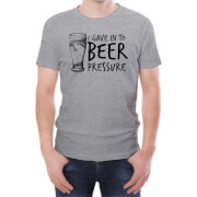 Beer Pressure Men's T-Shirt - L - Grey