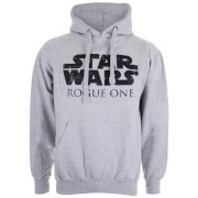 Sweat à Capuche Homme - Star Wars Logo - Gris Chiné