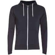 Advocate Men's Berkley Zip Through Hoody - Navy - M - Navy