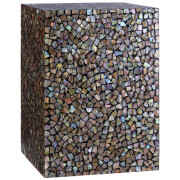 Fifty Five South Fusion Square Side Table - Crackle Mosaic