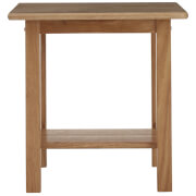Fifty Five South Tropical Hevea Wood Square Side Table - Natural