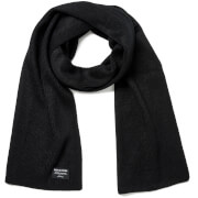 Jack & Jones Men's DNA Knitted Scarf - Black