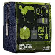 Redken For Men Kit Man Bun - Barber Essentials Kit (Long Men's Hair)