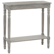 Fifty Five South Heritage Winter Melody Console Table - Washed Oak