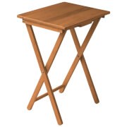 Fifty Five South Snack Tropical Hevea Wood Table - Antique Pine