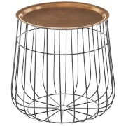 Fifty Five South Templar Tray Table - Copper/Black