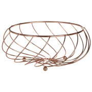 Kuper Abstract Fruit Basket - Rose Gold