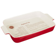 From Scratch Rectangular Oven Dish - Red Stoneware