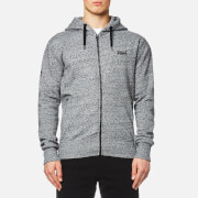 Superdry Men's Orange Label Urban Zip Hoody - Flint Grey Grit