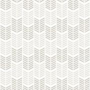 Superfresco Easy Oiti Chevron Geometric Wallpaper - Taupe