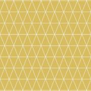 Superfresco Easy Triangolin Geometric Wallpaper - Mustard