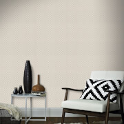 Superfresco Easy Trellis Textured Geometric Wallpaper - Taupe