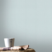 Superfresco Easy Trellis Textured Geometric Wallpaper - Grey