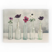 Art For The Home Floral Row Printed Canvas Wall Art