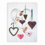 Art For The Home Hearts Compendium Photographic Printed Canvas Wall Art