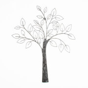 Art For The Home Tree Metal Grey Wall Art