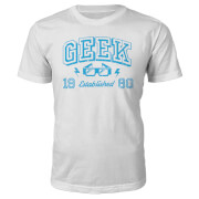 Geek Established 1980's T-Shirt- White