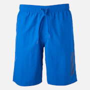 adidas Swim Men's 3 Stripe Shorts - Blue