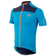 Pearl Izumi Elite Pursuit Short Sleeve Jersey - Bel Air Blue/Blue Depths Rush - L - Blue/Blue