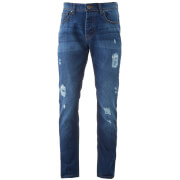 Jean slim Threadbare Carter - Hombre - Lavado medio