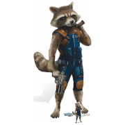 Guardians of the Galaxy Volume 2 Rocket Racoon Cardboard Cut Out - Life Size
