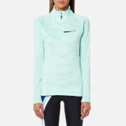 adidas Terrex Women's Icesky 2 Long Sleeve Fleece Jumper - Clear Aqua