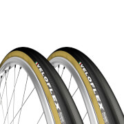 Veloflex Roubaix Tubular Tyre Twin Pack – 28in x 25mm – Black