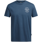 Jack & Jones Originals Men's Organic T-Shirt - Ensign Blue