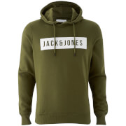 Jack & Jones Men's Core Bak Hoody - Capulet Olive