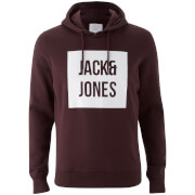 Jack & Jones Men's Core Bak Hoody - Fudge