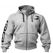 GASP Pro Gym Hoody - Grey Melange
