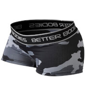 Better Bodies Fitness Hot Pants - Grey Camoprint