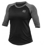 Better Bodies Women's Baseball T-Shirt - Black