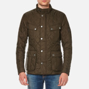 Barbour International Men's Ariel Quilt Jacket - Olive