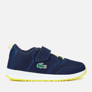 Lacoste Kids' L.Ight 117 1 Runner Trainers - Navy/Blue