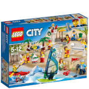 LEGO City: Ensemble de figurines LEGO City - La plage (60153)