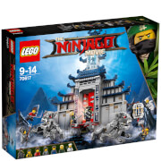 The LEGO Ninjago Movie: Templo del arma totalmente definitiva (70617)