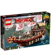 The LEGO Ninjago Movie: Le QG des ninjas (70618)
