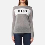 Bella Freud Women's Sparkle 1970 Jumper - Silver