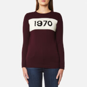Bella Freud Women's 1970 Wool Jumper - Burgundy