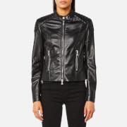 Belstaff Women's Mollison Leather Jacket - Black