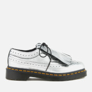 Dr. Martens Women's 3989 Metallic Leather Brogues - Silver - UK 7 - Silver