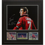 Eric Cantona Signed and Framed 16 x 20 Photograph