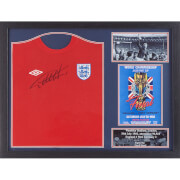 Geoff Hurst Signed and Framed England 1966 Shirt