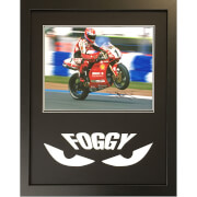 Image of Carl Fogarty Signed and Framed 16 x 20 Photograph