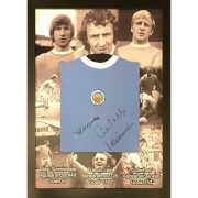 Image of Bell, Lee and Summerbee Signed and Framed Shirt