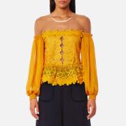 Three Floor Women's Mellow Top - Saffron - UK 10 - Yellow