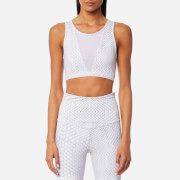 Varley Women's Terri Crop Top - White Snake
