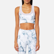 Varley Women's Bandini Crop Top - Teal Marble