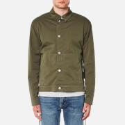 Helmut Lang Men's Uniform Twill Jacket - Green - L - Green